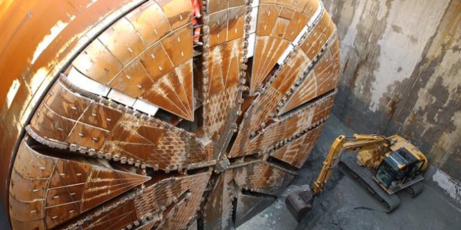 Túneles con presión de barro