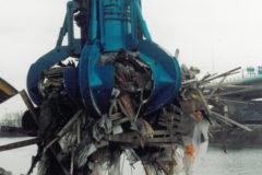 Reciclaje, desperdicio e incineración